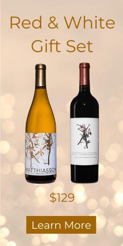 Matthiasson Red & White Holiday Wine Gift Set